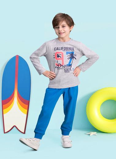 Roly Poly  California 97 Grimelanj Erkek Çocuk Pijama Takımı Gri